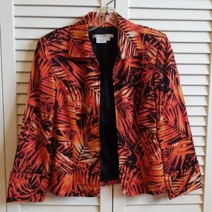 maggy london silk jacket